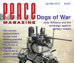 cover of the 2014 edition of Peace Magazine