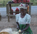 Photo of a woman farmer by Busani Bafana/IPS